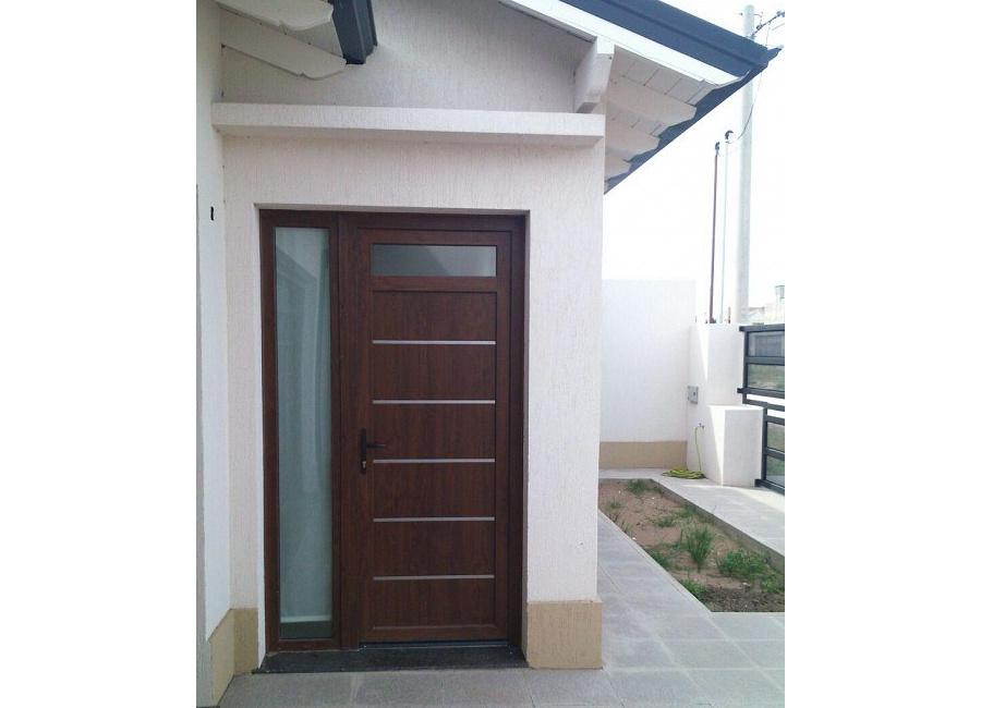 Puerta PVC roble