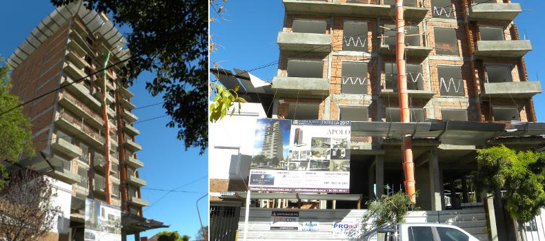 Edificios con abertura de pvc